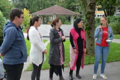 Akcija ustavi se! in Rožnate pletenine - 25. 09. 2017