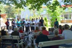 Pevski zbor Livada iz DCA Tržaška na obisku - 05. 08. 2014